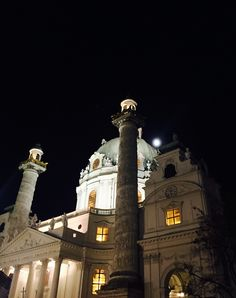 Loving this city, loving vienna in winter, loving the art advent am karlsplatz 😍