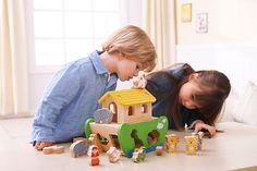 Steck- und Sortierspiel in einem - auch zum freien Spielen! #everearth #kinder #holzspielzeug #weltbild #arche