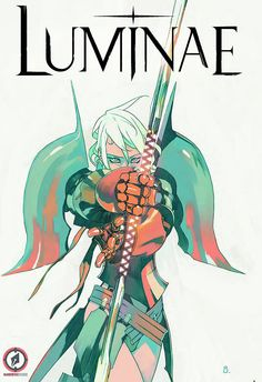 by bengal. Preview: Luminae HC, Cover - Comic Book Resources