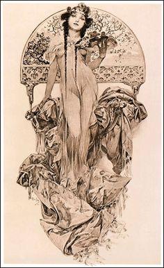 Alphonse Mucha, 1901