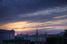 Sunset over Stockholm by Kaj Bjurman, via Flickr