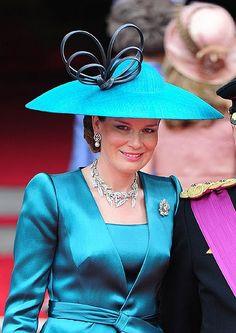 Princess Mathilde of Belgium...lovely photo