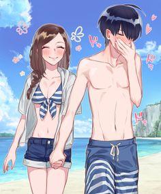 Couple Manga, Anime Love Couple, Couple Cartoon, Cute Anime Couples, I Love Anime, Manga Anime, Anime Amor, Manga Romance, Image Couple