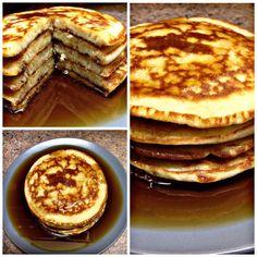 Nadychane livance s javorovym sirupem – Snadné Recepty Pancakes, Breakfast, Food, Syrup, Morning Coffee, Eten, Meals, Pancake, Morning Breakfast