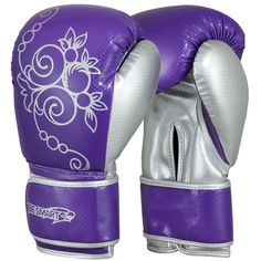 Boxing Gloves Kids Junior Youth MMA Sparring Training Kick Boxing Muay Thai Purp