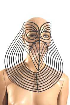 Horus Mask plague doctor mask with beak masquerade by divamp, $485.00