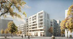 Neue Mitte Altona – Block 4, Hamburg  LRW Architekten und Stadtplaner Loosen, Rüschoff + Winkler PartG mbB