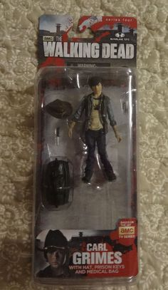 The Walking Dead Carl Grimes Series 4 (1) Action Figure #McFarlaneToys