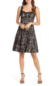 100+ Dresses Perfect for Wedding Guests | The Perfect Palette Fit Flare Dress, Fit And Flare, Event Dresses, Bride Dresses, Nordstrom Dresses, Women's Fashion Dresses, Floral Lace, Plus Size Dresses, Sheath Dress