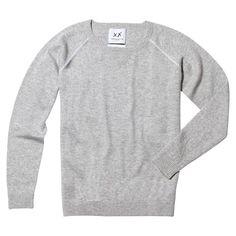 Sloppy Jojo Crewneck Sweater - Grey / M