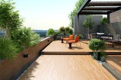 Terrazas - Aplicaciones - Hazlo con Cerámicos Patio Interior, Tile Floor, Tiles, Flooring, Exterior, Garden, Outdoor Decor, Design, Home Decor