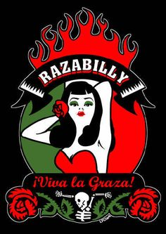 chicanainchoos:  vidaperdida:  Orale!  I'm not a rockabilly rose, but I sure do appreciate the aesthetic - especially the style cultivated by women. I borrow on occasion - the red lips, the glasses, the wiggle dresses. I can't imagine rockabilly without the Chicano influence - the cars, the hair, the make-up.