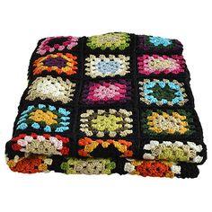 Hæklet tæppe / crocheted blanket