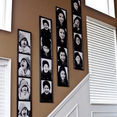 would love this with each of the kids/grandkids to fill a wall <3