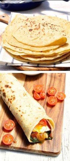 Easy Soft Flatbread (No Yeast) | best recipes food