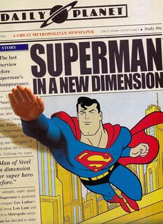 Superman in a New Dimension