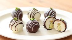 Cream Cheese Chocolate Truffle|HidaMari Cooking Chocolate Cheese, Chocolate Truffles, Chocolate Recipes, Candy Recipes, Sweet Recipes, Dessert Recipes, Homemade Ciabatta Bread, Homemade Candies, Cheese Ball