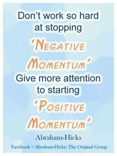 Abraham positive momentum
