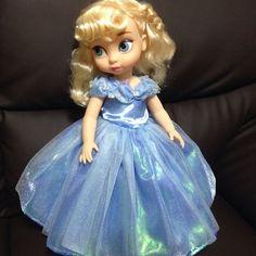 Cinderella 2015 movie look! Little Disney Princess, Disney Princess Dolls, Baby Disney, Disney Toddler Dolls, Disney Dolls, New Dolls, Ooak Dolls, Cinderella Doll, Cinderella 2015