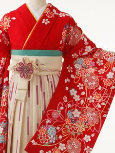 This is a hakama. Hakama is a divided or pleated skirt worn over a Kimono. A…