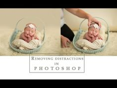 Removing distractions & background in Photoshop | A Tutorial - YouTube