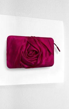 """Marchesa's Georgina Chapman  """"English Rose"""" evening bag"""
