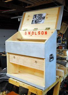 Dutch Tool Chest- Old Wolf Workshop