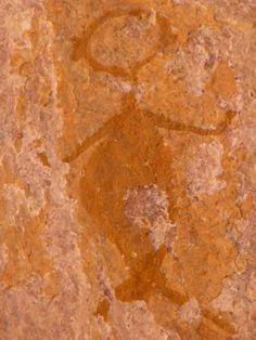 Rock painting - of the Karoo Mermaid? Ancient Mysteries, Ancient Artifacts, Ancient Aliens, Ancient History, Human Art, Rock Art, Traditional Art, Archaeology, Painted Rocks