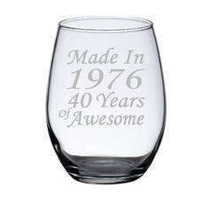 60th Birthday Wine Glass, 60th Birthday Celebration, 60 ...