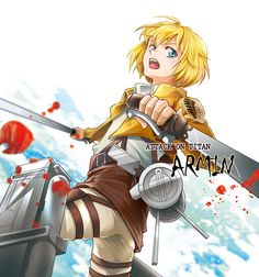 Shingeki no Kyojin -Armin by moonu17.deviantart.com on @deviantART