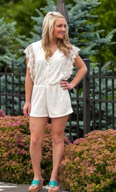 """""""Natural Romper"""" is available for $45.00 at tooblueboutique.com + FREE SHIPPING! New arrivals are being posted daily!"""