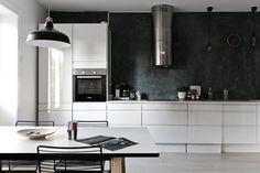 Kitchen, styling Linda Elmin/Hviit