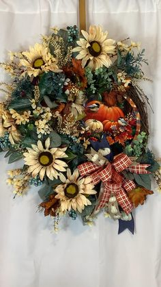 Thanksgiving Wreaths, Autumn Wreaths, Holiday Wreaths, Christmas Decorations, Holiday Decor, Front Door Decor, Wreaths For Front Door, Entryway Decor, Office Decor