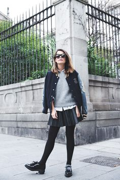 Varsity_Jacket-Diesel-Leather_Skirt-Loafers-Ouftit-Street_Style-Collage_Vintage-15