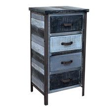Fairywood 4 Drawer Accent Chest