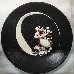 Black Pudding, Balsamic and Yorkshire Feta Ice Cream