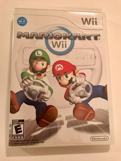 MARIO KART WII for Nintendo Wii Case, Game, Manual -Tested  | eBay