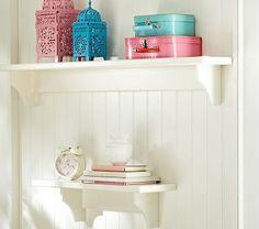 Hayden Simply White Shelves #westelm
