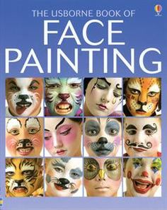 Face painting is dramatic, creative and lots of fun. The easy-to-follow step-by-step instructions and helpful technique tips in the book mean that even complete beginners can be pleased with their results. You will learn how to transform people into animals, monsters and clowns, or decorate their faces with flowers, exotic scenes or stylish designs to match their clothes. www.vmahoney.com #halloween #facepainting
