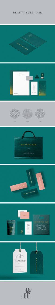 Beauty Full Hair branding by Cocorrina