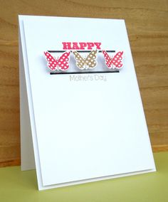 Stamping & Sharing: Happy Mother's Day