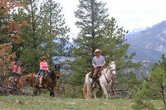 Estes Park Horse Ride Schedule, Colorado Western Riding