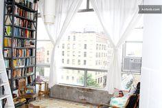 bright studio loft in artsy bldg in Brooklyn