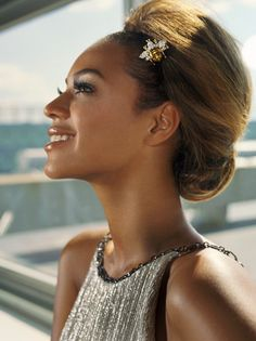 Beyonce updo