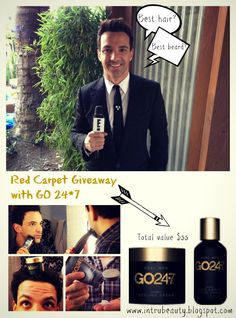 GO 24/7 Men's Line giveaway! #go247 #giveaway #free #contest #sweepstakes #redcarpet #win #pintowin #pinit #pinterest #fashionpolice #men #haircare #hairtips #grooming #blog #bbloggers