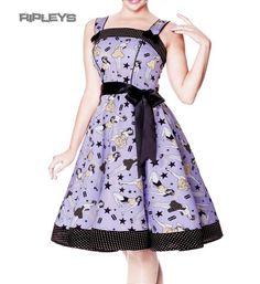 50's dress purple - Google zoeken
