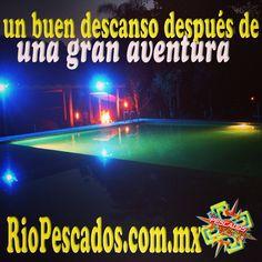 Un buen descanso después de una gran #aventura #jalcomulco http://www.riopescados.com.mx #Veracruz