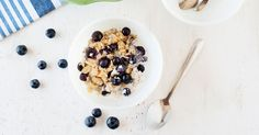 This blueberry baked oatmeal recipe is a hearty and healthy breakfast that can be prepared the night before or while getting the kids ready for school.