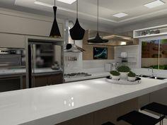 projeto cozinha clean - egt