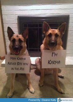 I am Karma